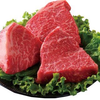 <鹿児島県産>黒毛和牛ももステーキ用(ランプ)