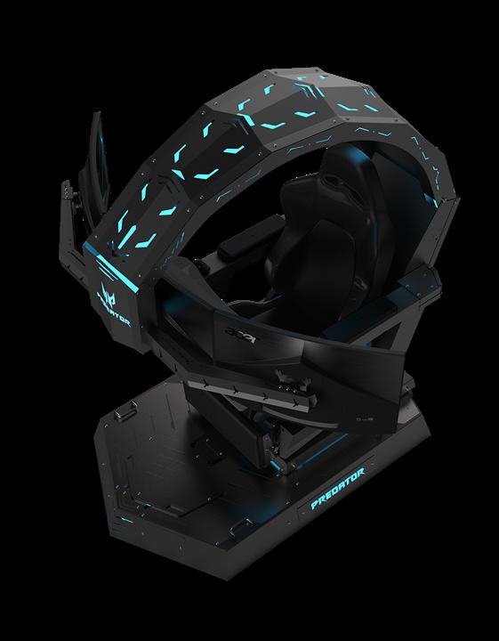 宏碁Predator與Nitro電競家族火力全開!科幻十足電競座艙與高CP周邊成員亮相