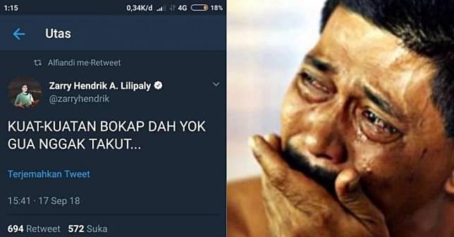 Ejek Mengejek Nama Ortu Udah Biasa, Pengguna Twitter Jaman Now ini Malah Pamer Kehebatan Bokapnya!