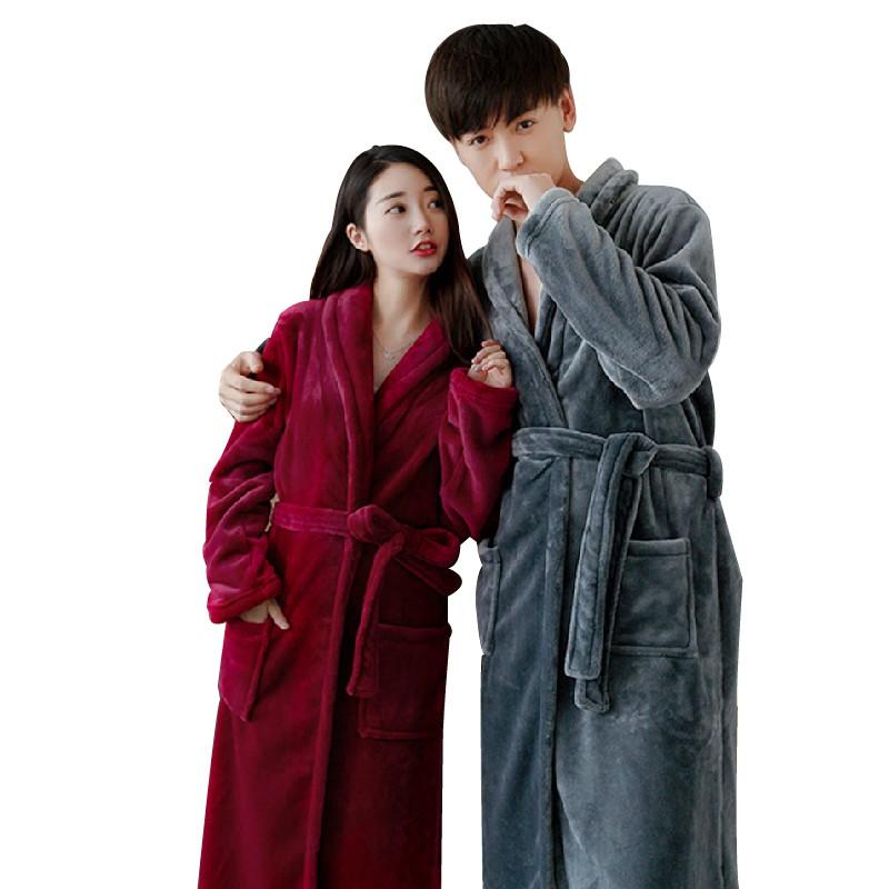 【商品特色】商品名稱:暖暖珊瑚絨男女浴袍睡袍(加厚版喔~不是便宜薄薄的那種)【商品規格】選項:灰色/駝色/白色/酒紅/玫紅/深紫/深藍尺碼:均碼尺碼/cm衣長胸圍肩寬袖長165/88A(F)12912