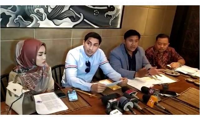 Irwansyah Dilaporkan Medina Zein dengan Pasal Penggelapan Uang Hampir 2 Miliar