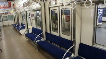 從天而降的電車座椅