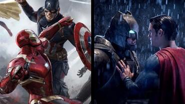 DC 被漫威壓著打!《美國隊長 3》全球票房完勝《蝙蝠俠對超人》!