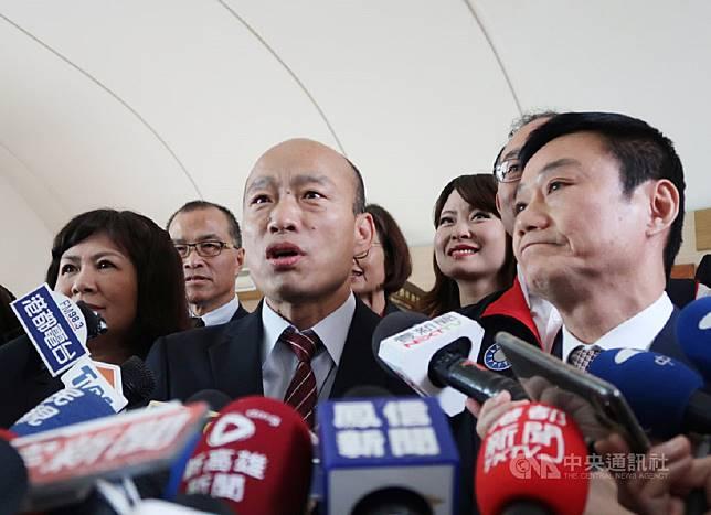 ▲高雄市長韓國瑜呼籲,王丹不要成了綠軍的打手,韓國瑜也請王丹多監督一下北韓的金正恩,少管台灣的事務。(圖/高市府提供)
