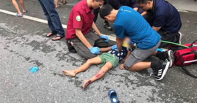 6歲童遭撞飛一度恢復心跳 昨晚病情巨變宣告不治