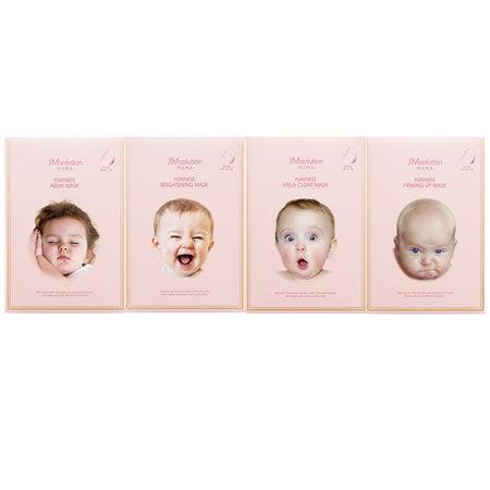 韓國 JM solution 嬰兒面膜(10片入/盒) 30mlx10 嬰兒面膜 寶寶面膜 純淨面膜 面膜 JMsolution