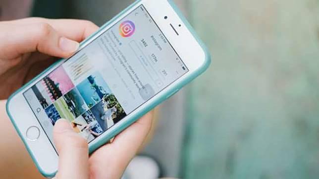 Aplikasi Instagram pada ponsel pintar bersistem iOS (Shutterstock).