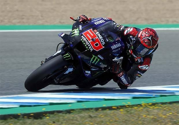Quartararo Tercepat di Latihan Bebas Keempat MotoGP Spanyol 2021