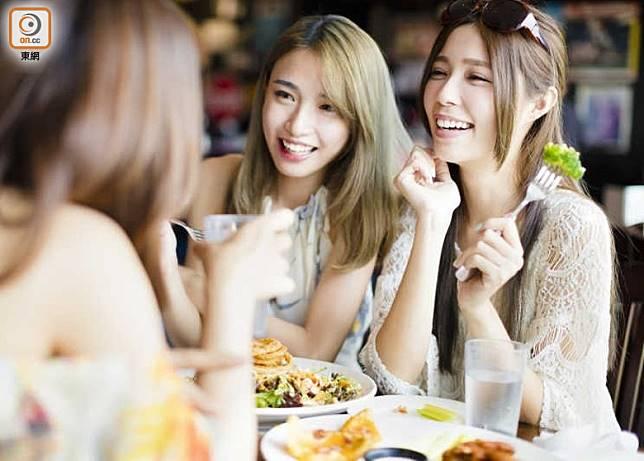三界五行:友誼與飲食 關係密切(互聯網)