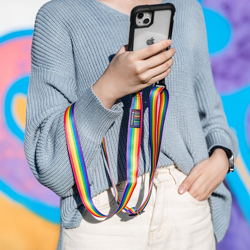 iPhone 13 Pro Max 6.7吋 Odyssey 掛繩軍規防摔金屬手機殼