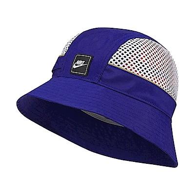 品牌: NIKE型號: BV3363-470Sportswear Mesh防曬 遮陽 反光設計街頭穿搭 藍 白 銀