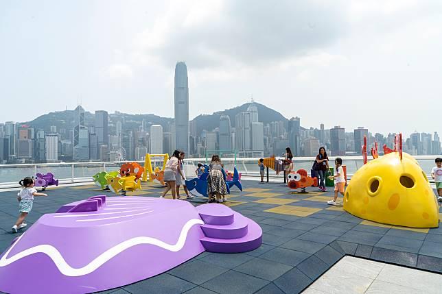 觀點的「游」樂園就有更多花款設施。