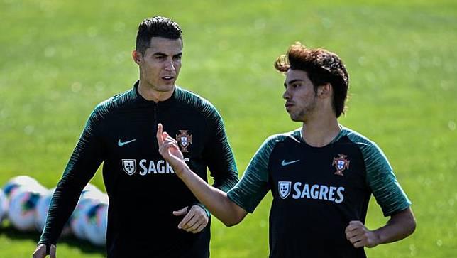 Sehari Setelah Ibunda Terkena Stroke, Ronaldo Sudah Kembali Latihan Bersama Juventus