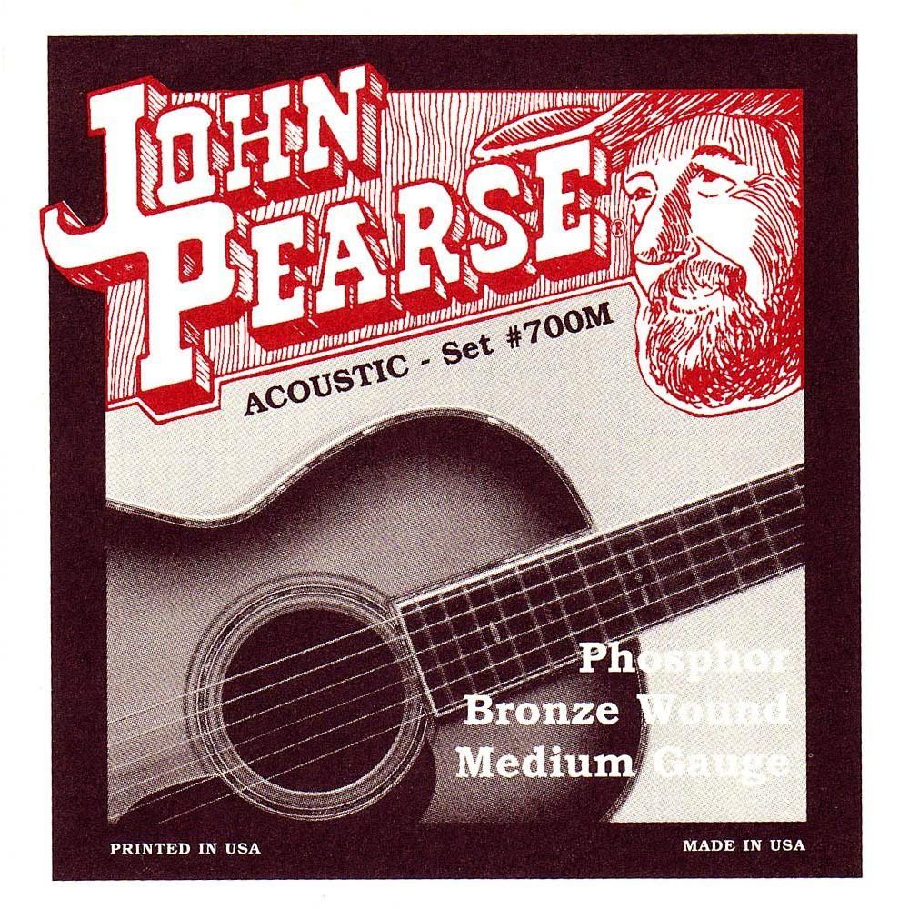 John Pearse 700M 民謠吉他弦 Phosphor Bronze 磷青銅 (13-56) - 【黃石樂器】