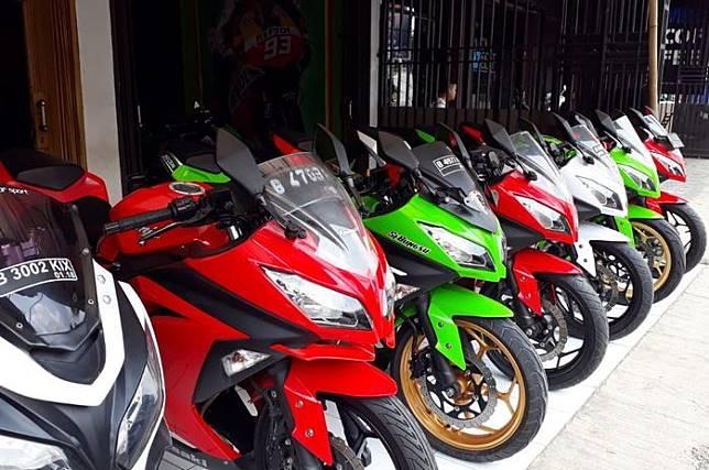 Motor Ninja 250cc bekas