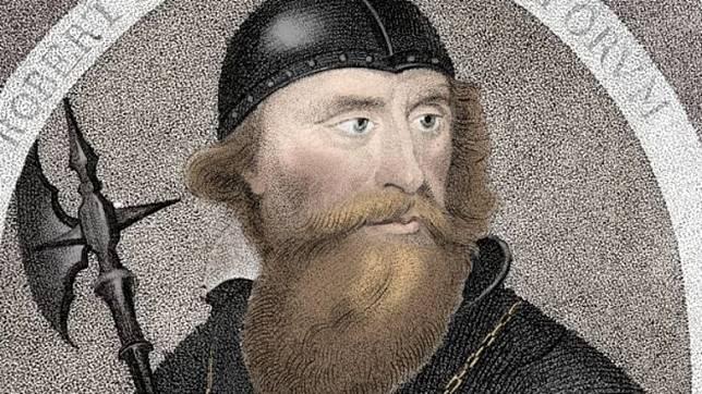 14世紀蘇格蘭其中一個國王Robert the Bruce,是Bruce Wayne的由來之一。(互聯網)