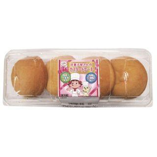 洋菓子屋さんのカスタードケーキ