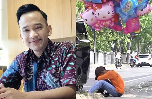 Berderai Air Mata Saat Temui Bocah SD Penjual Balon Keliling, Ruben Onsu: Saya Punya Anak, Jadi Tahu Betul