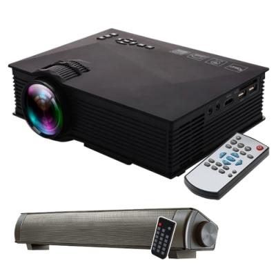 IS愛思 P046W 140吋無線同屏微型投影機(送藍牙微型聲棒喇叭)