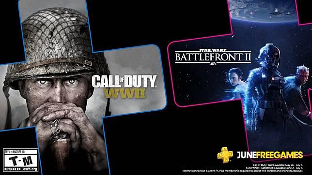 Star Wars Battlefront 2 Dikonfirmasi akan Menemani Call Of Duty : World War II Pada Playstation Plus Bulan Juni Nanti