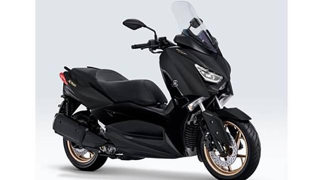 Yamaha menghadirkan varian baru untuk Xmax dan Aerox 155 VVA.