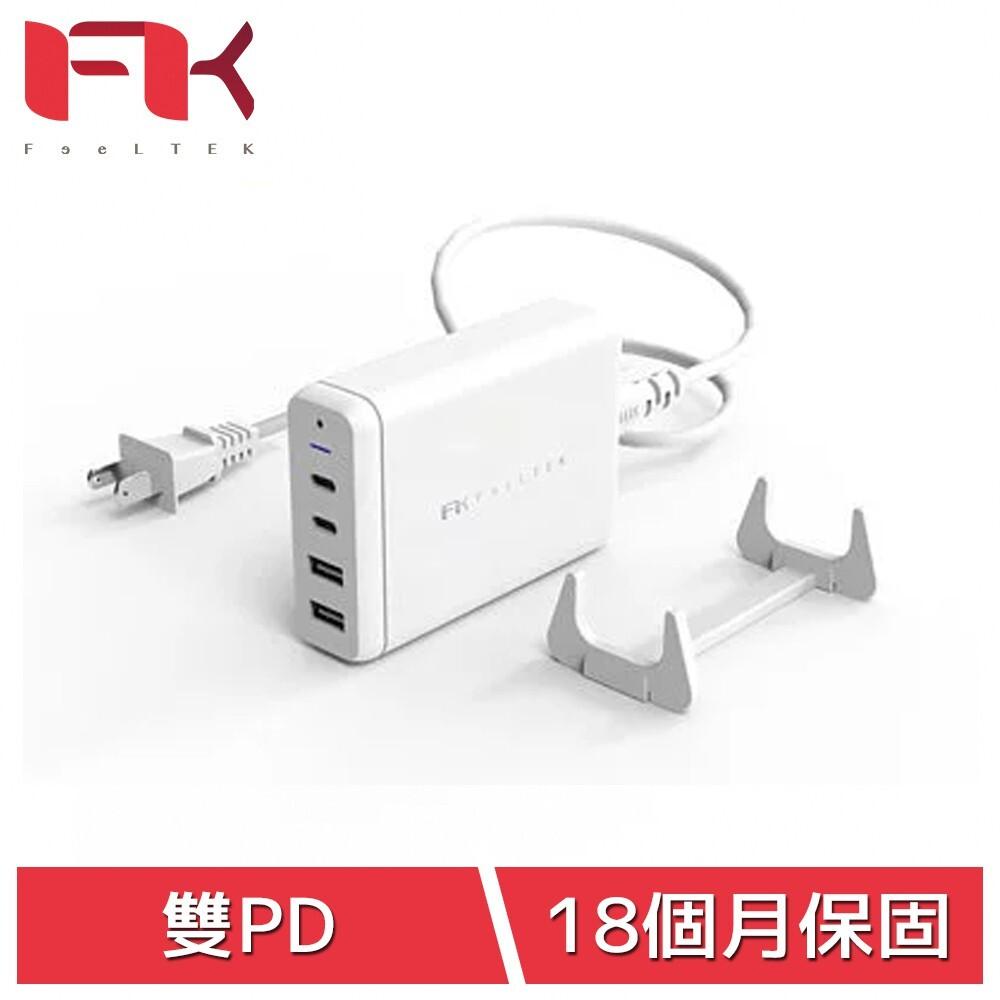 最 佳 隨 身 充 電 方 案 業界首創 USB-C PD雙輸出,可同時充4台裝置 60WPD 支援Macbook Pro與筆電高功率充電 18WPD 支援iOS與安卓手機、Switch快充 搭配散熱