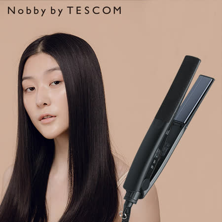 Nobby by TESCOM 日本專業沙龍修護離子平板夾 NIS3000 TW(夜空黑)