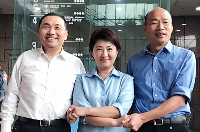 韓國瑜冤枉自己絕非「落跑市長」 認盧秀燕接台中競總主委