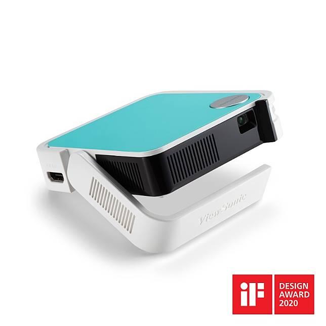 同類選擇:ViewSonic M1 mini,獲2020年iF設計獎,重量僅300g,可投影60吋畫面,並內置JBL喇叭,僅售2千左右。(互聯網)