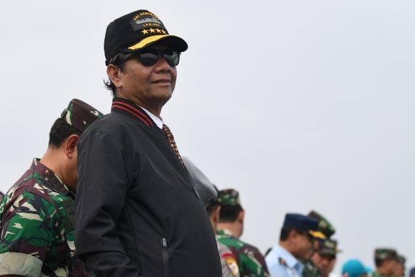 Mahfud ke Dubes AS: Indonesia tak butuh bantuan negara lain untuk Natuna