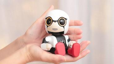 豐田汽車的小型機械人「KIROBO mini」發售