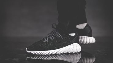 adidas Originals Tubular Doom Soc 全新黑白配色登場!