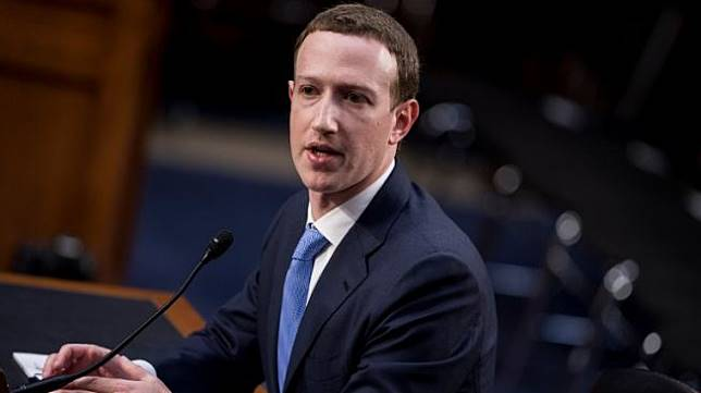 CEO Facebook, Mark Zuckerberg. [AFP]