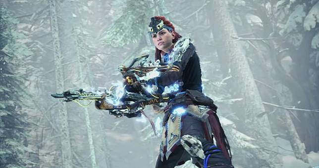 亞蘿伊換新裝!《魔物獵人 世界:ICEBORNE》再與《地平線:期待黎明》合作