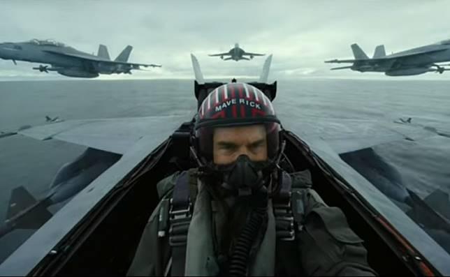 A still from 'Top Gun: Maverick.'