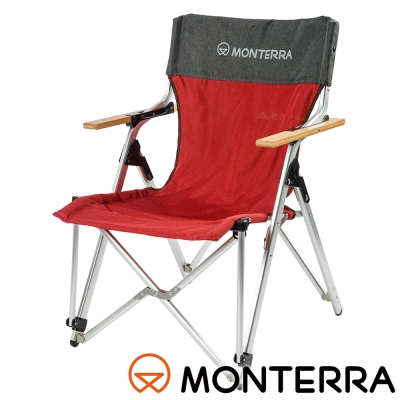 【MONTERRA 韓國】休閒太師椅『紫紅』LBA51