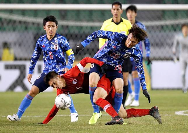 EAFF E-1 Football Championship: Japan Olympic team beat Hong Kong to make it two wins from two