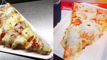 超濃郁起司披薩超級犯規,女孩們寧願肥死也要吃!