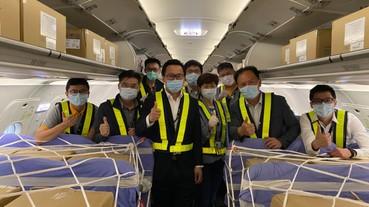 台灣虎航班機滿載 拼自救首班客艙載貨航班今執飛