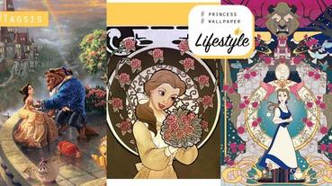 迪士尼公主第二彈~美女與野獸桌布來了,除了看電影外也不要忘記收藏桌布啦~