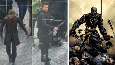 《復仇者聯盟4》鷹眼新造型曝光,會不會變成另一角色浪人羅賓?
