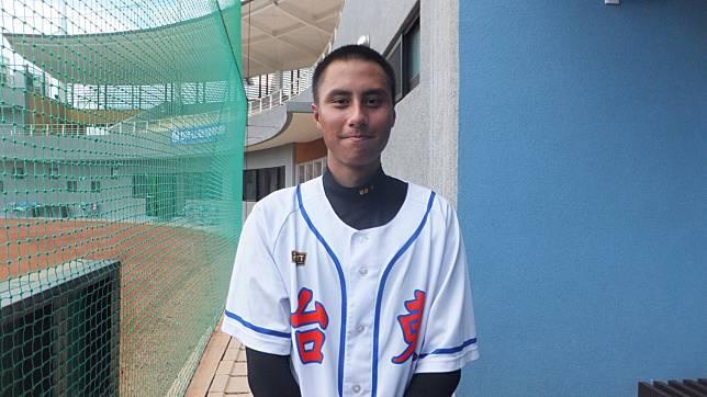 台東縣隊先發投手萬安彥,為球隊投出重要勝利。