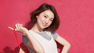 大島優子新短髮造型亮相!代言日本McDonald's X BEAMS DESIGN全新限定系列!