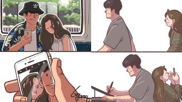 韓國漫畫家創作爆紅,情侶間大小事引起大家共鳴!