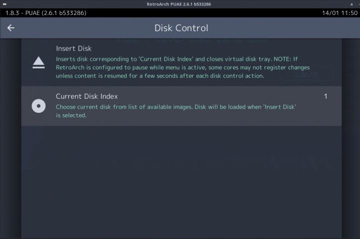 進片之前可以指定碟片編號。