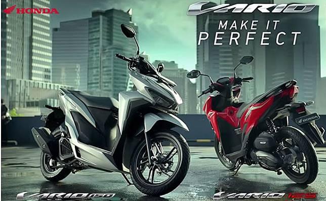 Honda Vario 150 (kiri) dan Vario 125 (kanan)