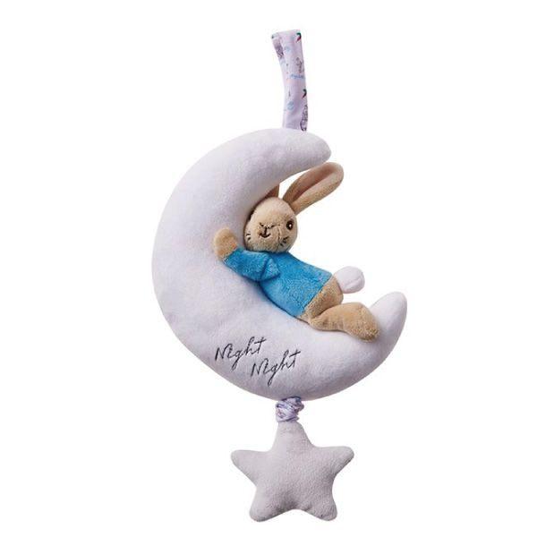 ◆超柔絨毛觸感溫潤,柔軟舒適 ◆吊掛帶便於掛在需要懸掛的位置 ◆悅耳柔和的音樂鈴,安撫寶寶入睡