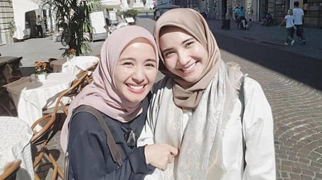 Laudya Cynthia Bella dan Zaskia Sungkar (Instagram.com)