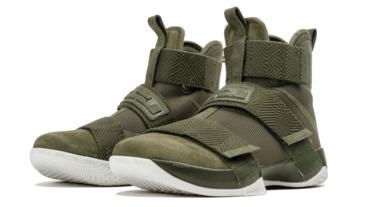 新聞分享 / 軍事風采 Nike LeBron Soldier 10 SFG Lux 'Cargo Khaki'