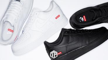 Supreme x Nike Air Force 1 Low 即將開售!